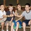 Seth, Benjie, Jonah & Joseph