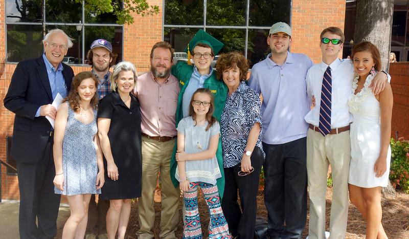 Jonah's College Graduation