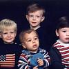 The Grandkids: Seth, Brady, Jonah and Joseph