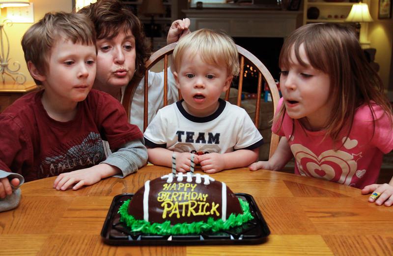 Patrick's 2nd Birthday