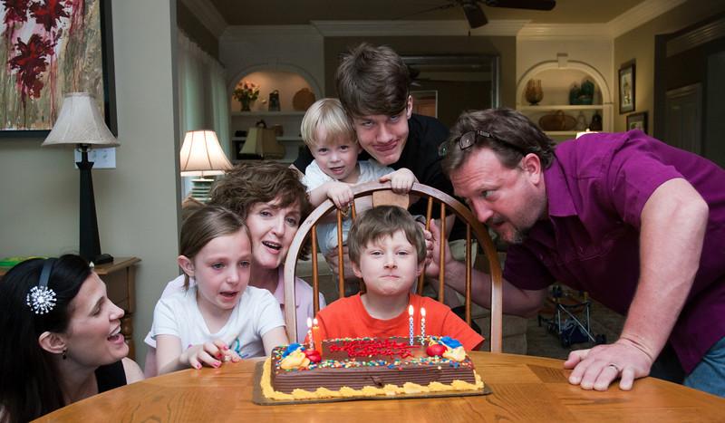 Noah Turns Eight