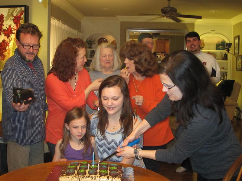Claire's Birthday Celebration