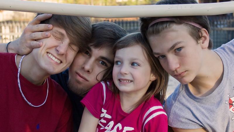 Seth, JC, Brady, Benjie
