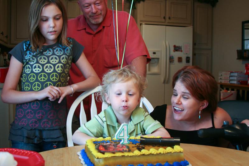 Noah Turns Four