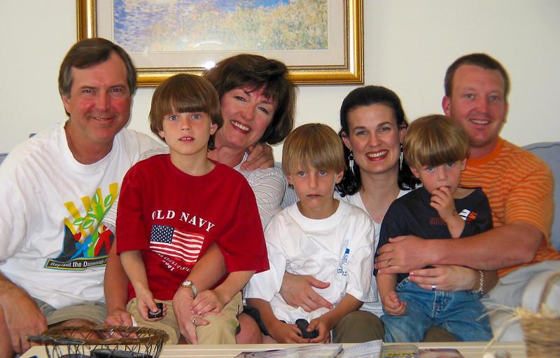 Terry, Jonah, Janie, Seth, Ann, Benjie & Nelson