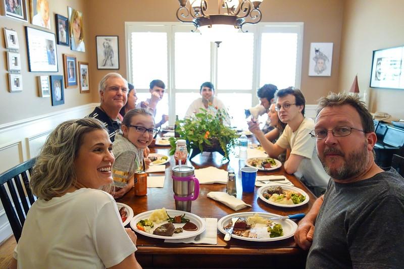 Grice Family Dinner