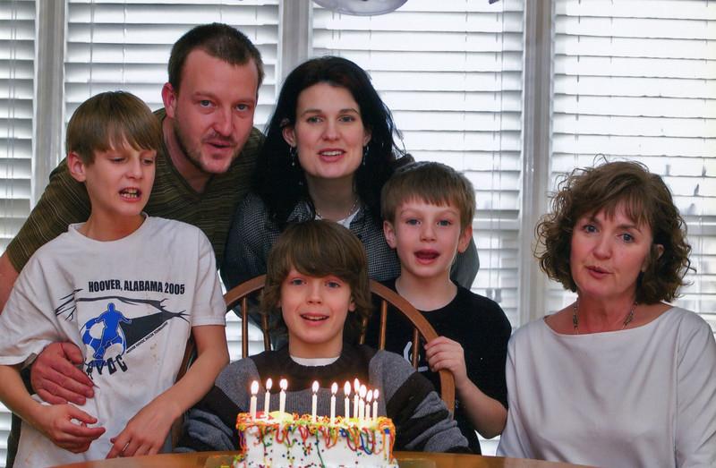Jonah's Birthday Party