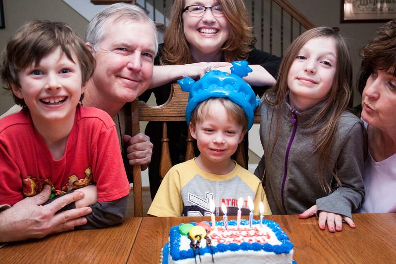 Patrick Turns Five