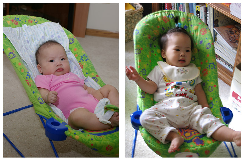 Then (jul 22, 05) and Now (apr 16, 06)