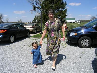 Keeping up with grandma's big steps