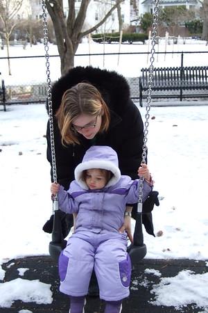 Winter swing.
