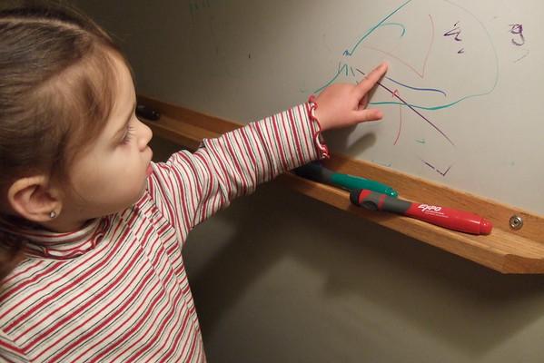 Guen describes her art.
