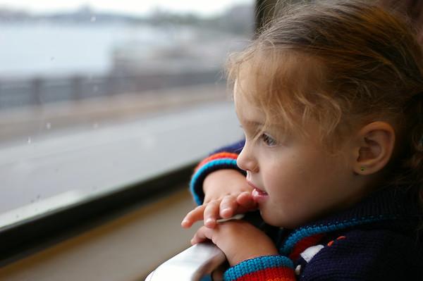 Train window.