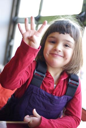 Guen, Age 4.