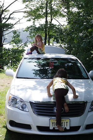Rental car or climbing structure?