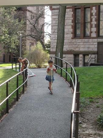 Harvard scooter ramp.