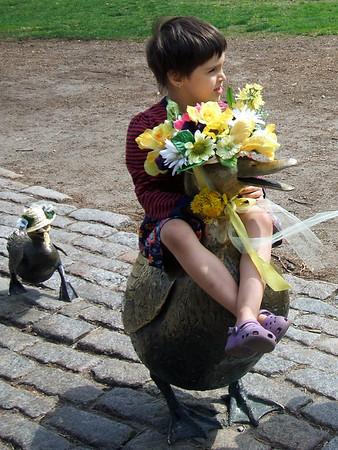 Duck ride.