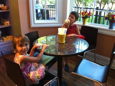 An ice-cream stop.