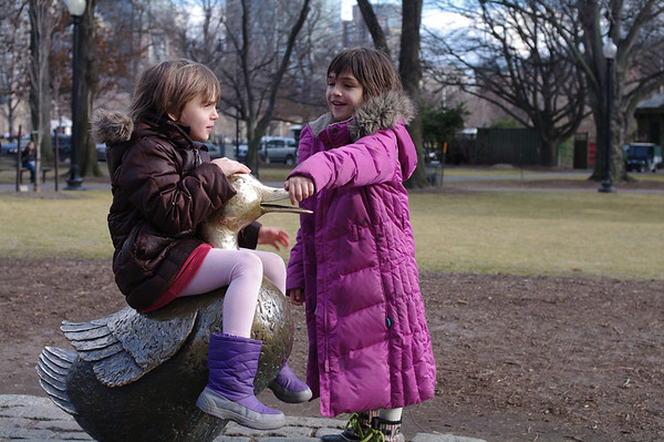 At the Public Garden.