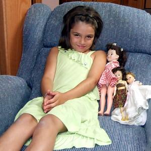Guen and Nana's dolls.