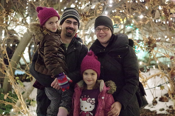 Christmas at the Indianapolis Zoo.
