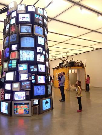 Tower of TVs.