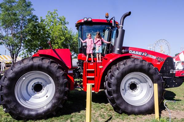 Big tractor.
