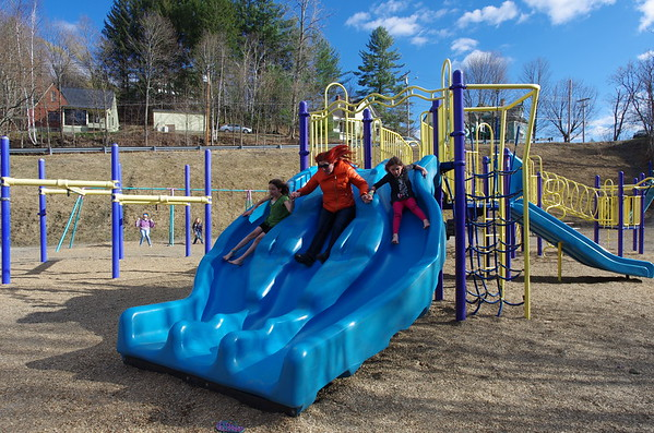 Triple slide!