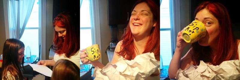 Birthday mug from Guen.