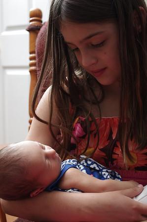 Baby Kierstin.