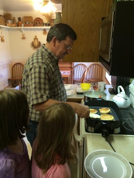 Grandpa's pancakes.