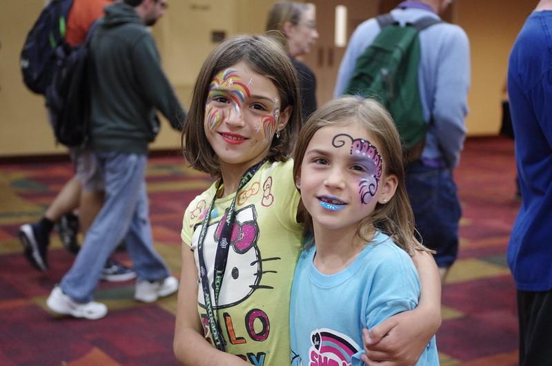 Guen and Anya at Gen Con.