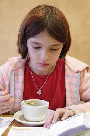Lentil soup.