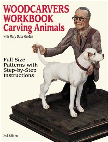 """<b>Publisher Notes</b> One of the classic titles on woodcarving is now repackaged and brought up to date with the latest information on carving tools. It offers the perfect mix of technical knowledge, instruction, creativity, and projects for carvers who wish to master the most popular animal subjects—cougars, rabbits, wolves, dogs, whitetail deer, bighorn sheep, wild mustangs, unicorns, and moose. The humor and clarity of the easy-to-follow instructions inspires woodworkers to expand the reach of their carving skills.  <b>Book Details Summary</b>  The title of this book is Woodcarver's Workbook: Carving Animals and it was written by Mary Duke Guldan. This 2nd edition of Woodcarver's Workbook: Carving Animals is in a Paperback format. This books publish date is November 2000 and it has a suggested retail price of $14.95. There are pages in the book and it was published by Fox Chapel Pub Co Inc. The 10 digit ISBN is 1565231341 and the 13 digit ISBN is 9781565231344.  Click <a href=""""http://www.allbookstores.com/Woodcarvers-Workbook-Carving-Animals-Mary/9781565231344"""" target=""""_blank"""">here</a> to order."""