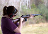 Heather with M1 Carbine