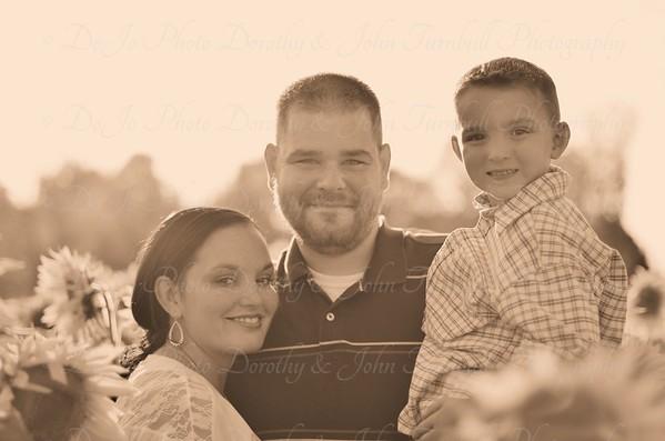 Gunning Family Sunflower Field 2015