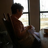 Grandma Sally keeping her hands busyin Guntersville, AL.