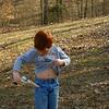 Aidan holstering his cap gun.