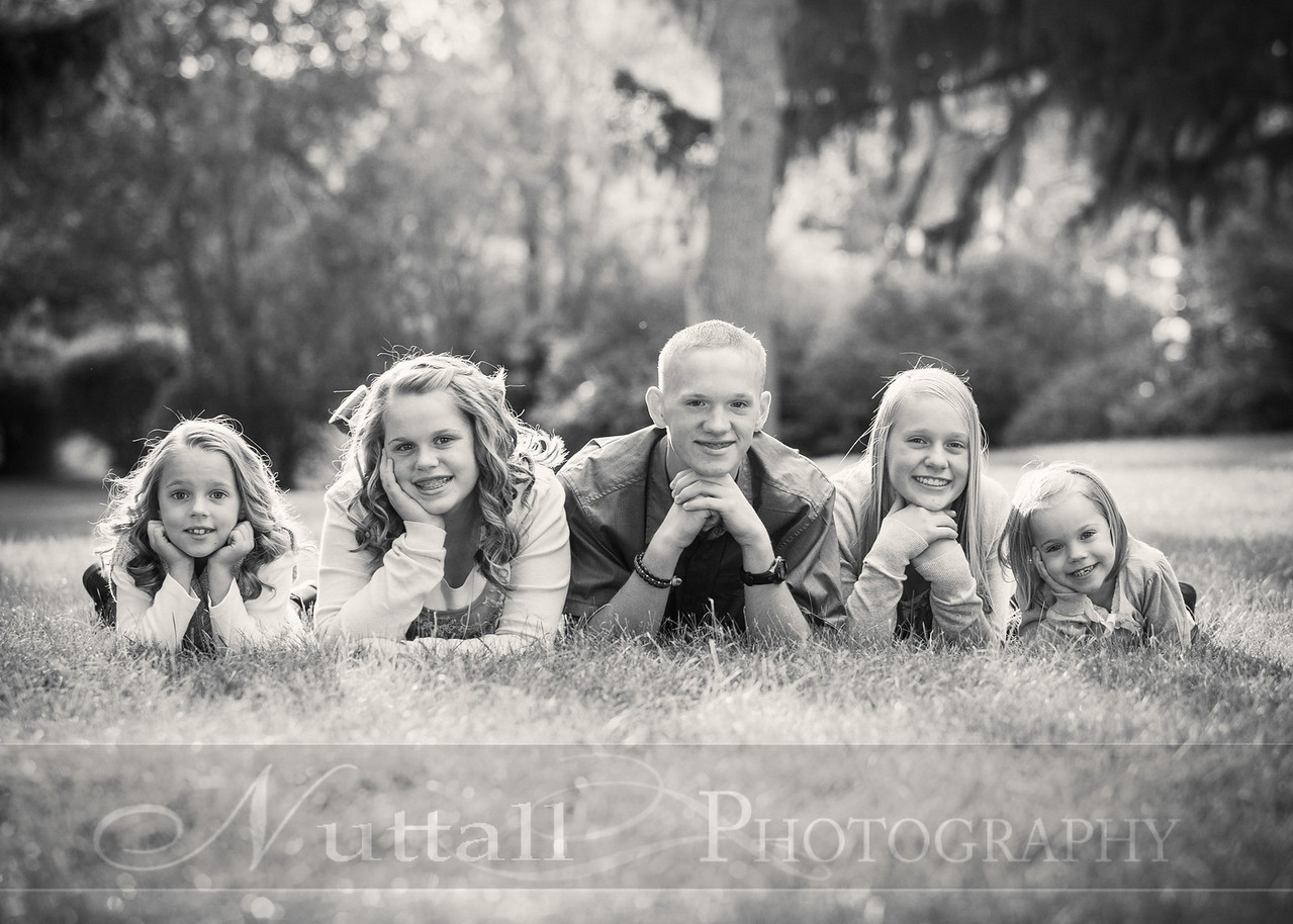 Gustaveson Family 36bw