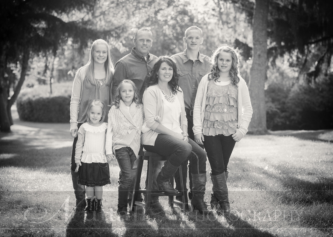 Gustaveson Family 51bw