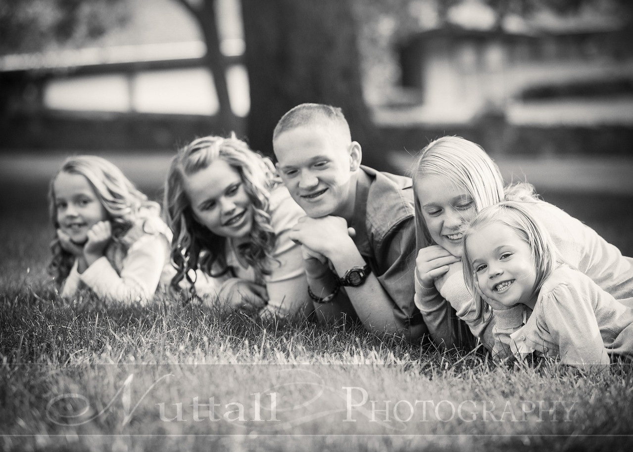 Gustaveson Family 39bw