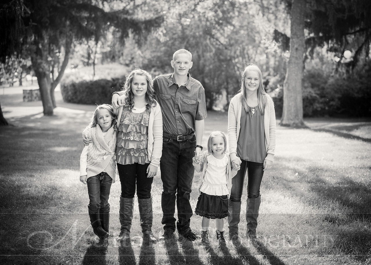 Gustaveson Family 40bw