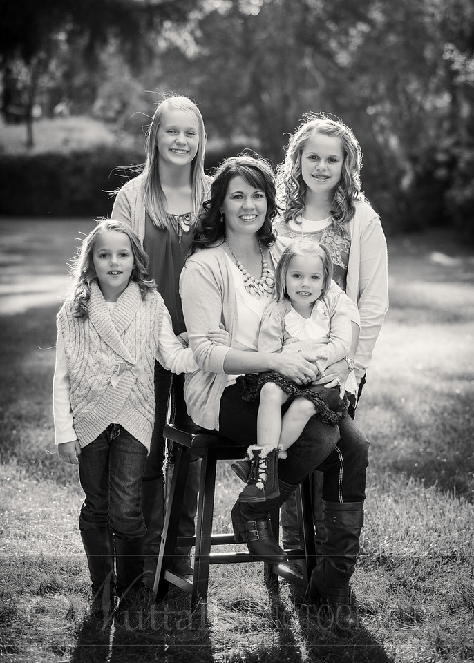 Gustaveson Family 57bw