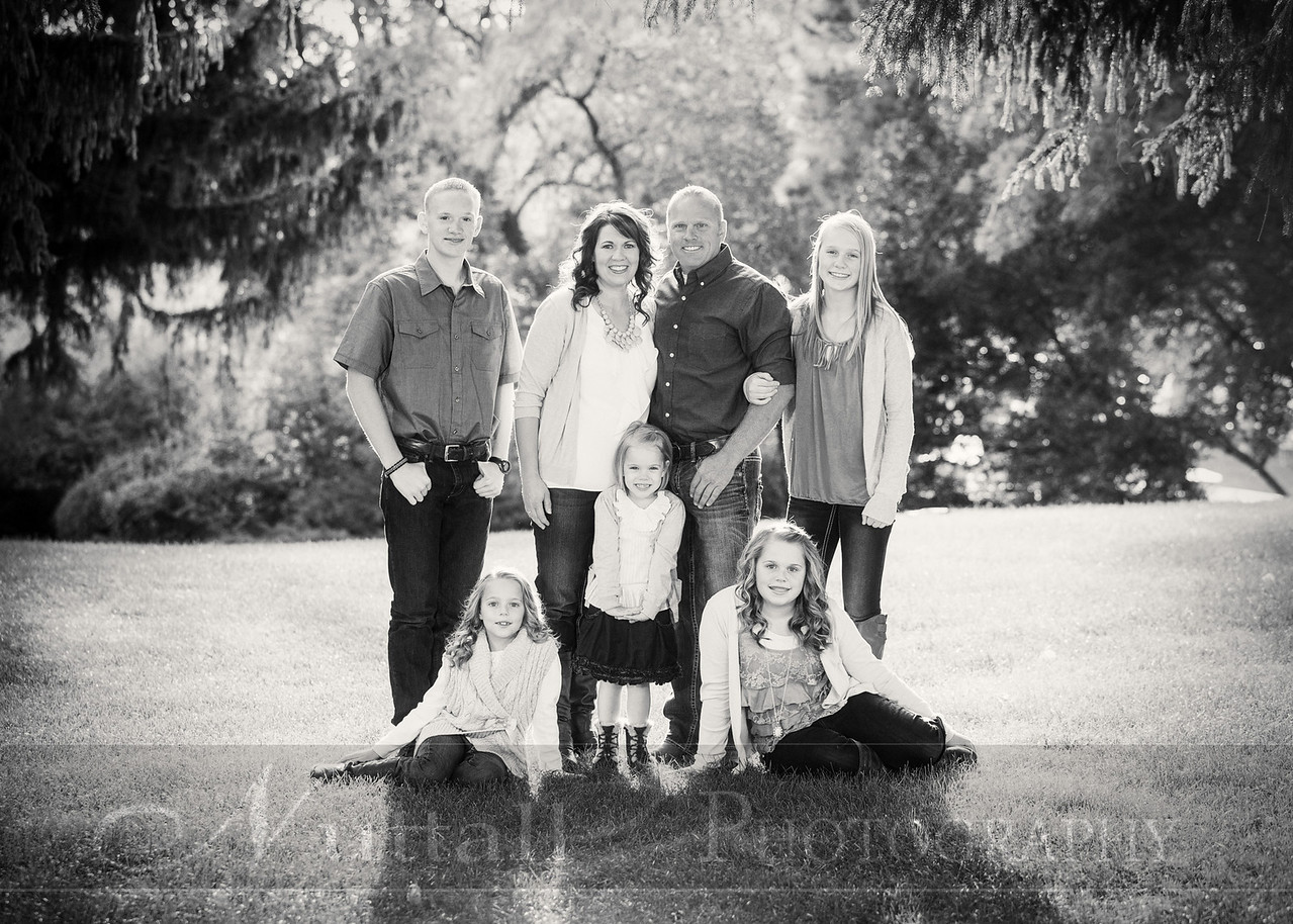 Gustaveson Family 04bw