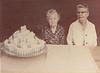 Hattie Rachel with Cake