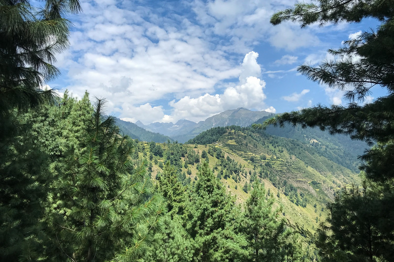 We were hiking in the Kaghan Valley