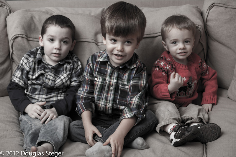 DA BOYS!    CARTER, CONNOR & JACK