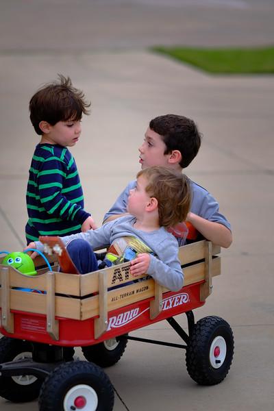 Grayson, Bailey and Carter