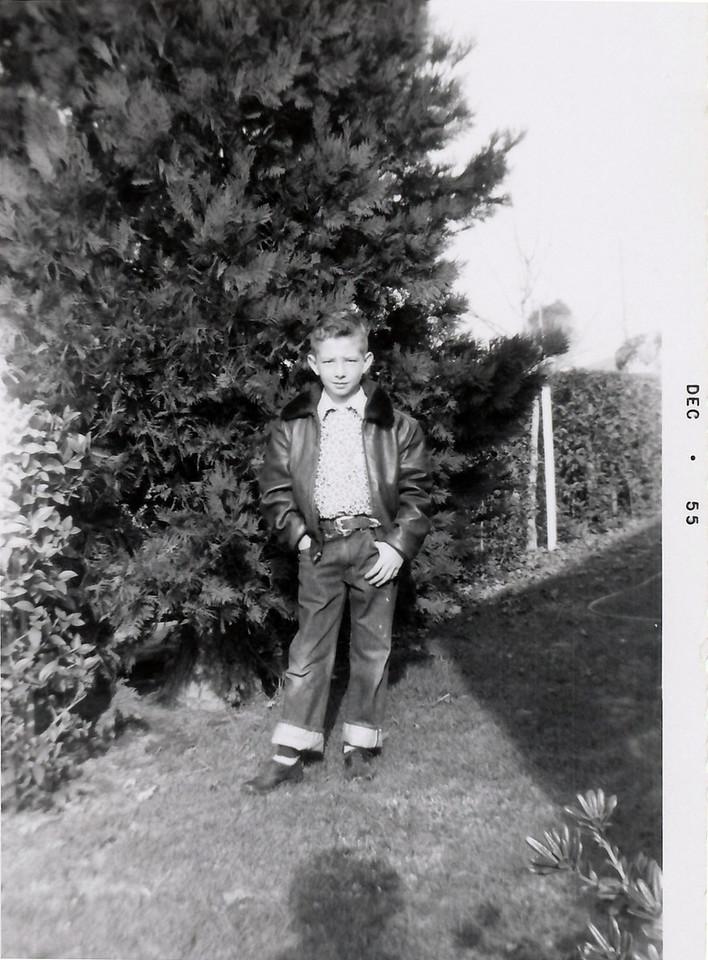 Dad, December 1955