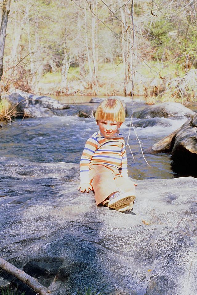 David @ Big Creek, Pine Flat, 1981